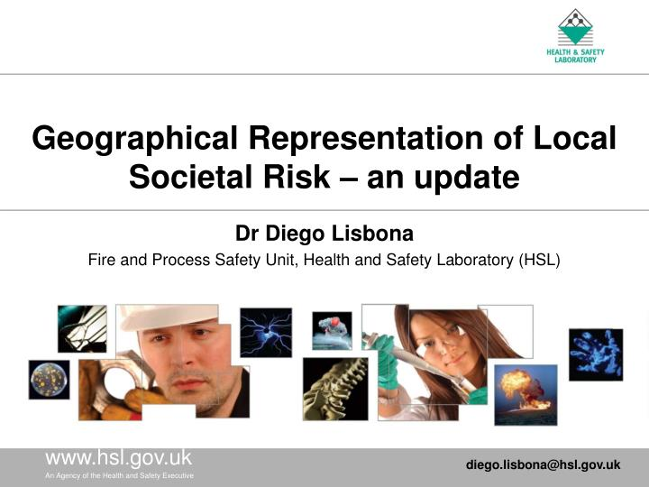 Geographical representation of local societal risk an update