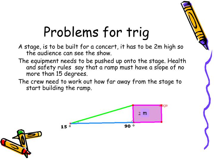 Problems for trig