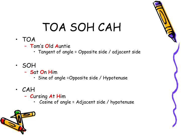 TOA SOH CAH