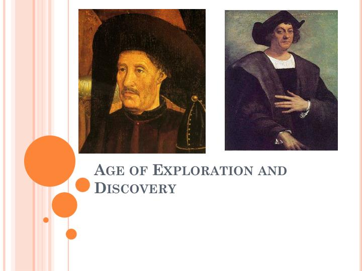 age of exploration and discovery n.