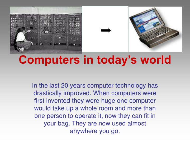 computers in today s world n.
