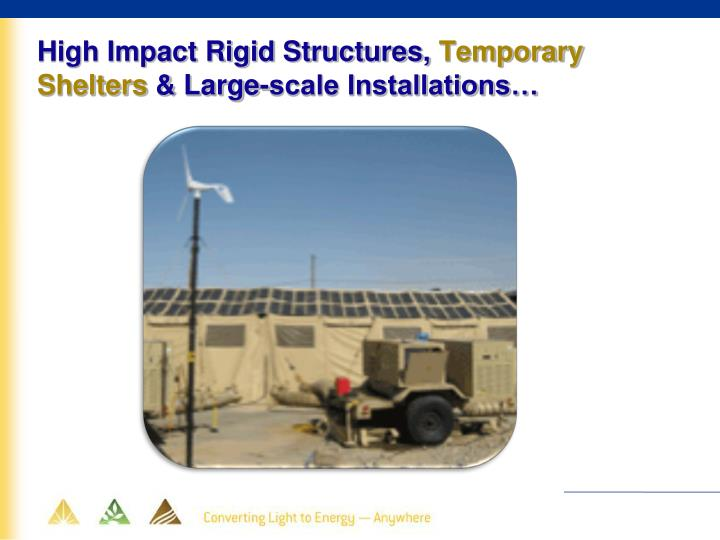 High Impact Rigid Structures,