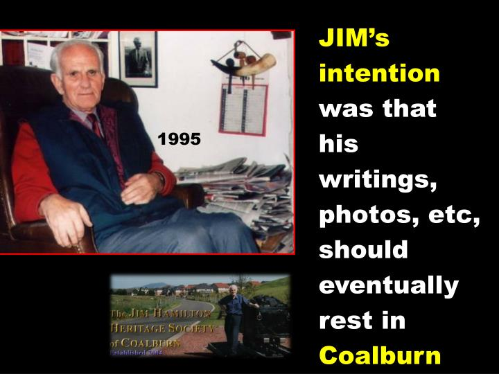 JIM's intention