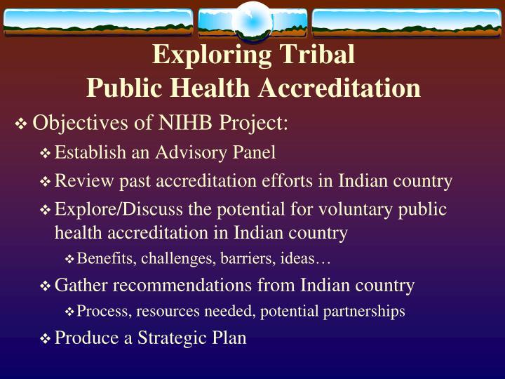 Exploring Tribal