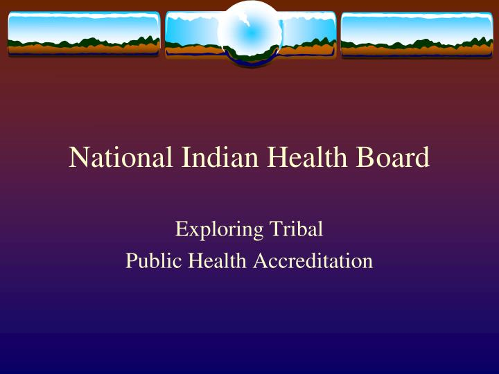 National Indian Health Board