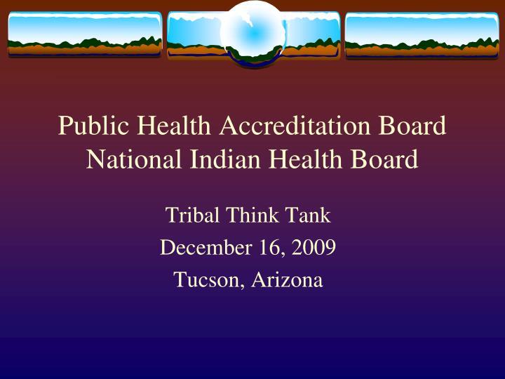 Public Health Accreditation Board