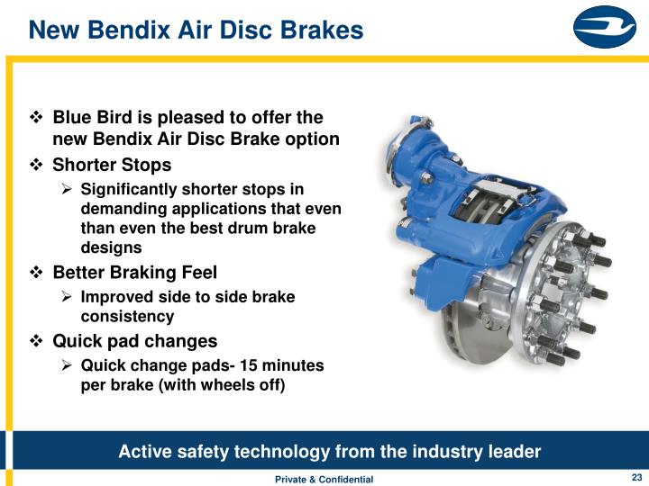 New Bendix Air Disc Brakes