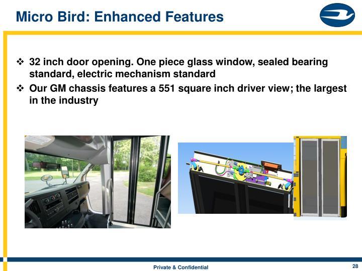 Micro Bird: Enhanced Features