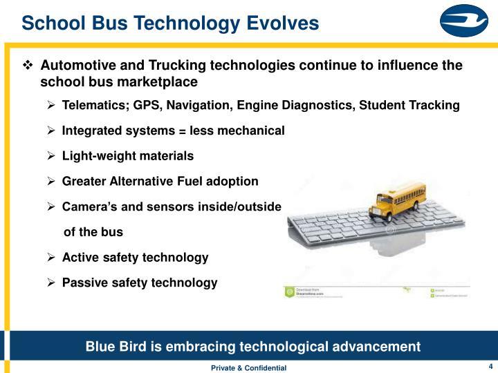 School Bus Technology Evolves