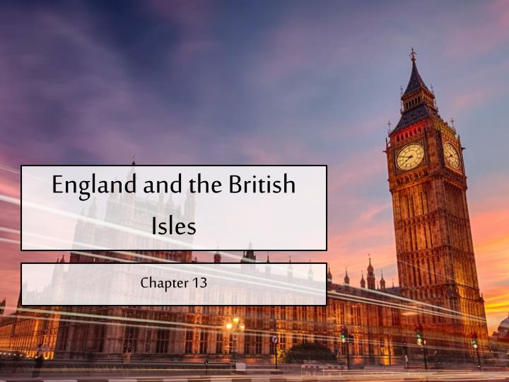 england and the british isles n.