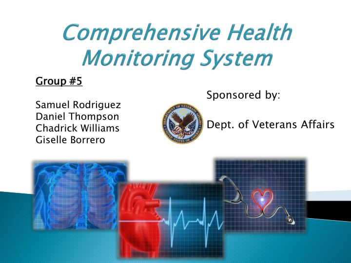 comprehensive health monitoring system n.