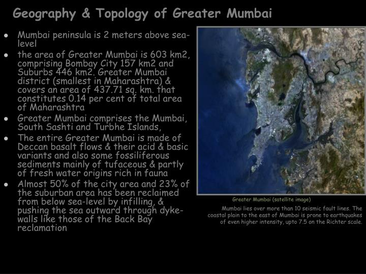 Geography & Topology of Greater Mumbai