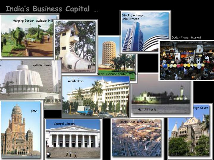 India's Business Capital …