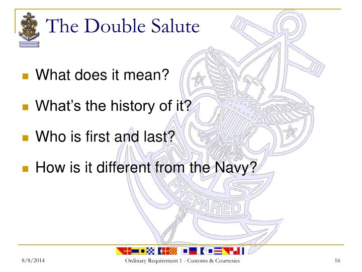 navy customs and courtesies manual