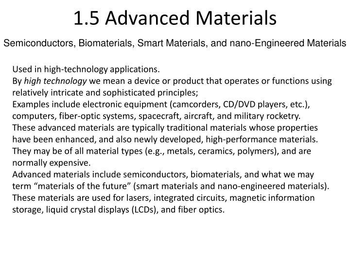 1.5 Advanced Materials