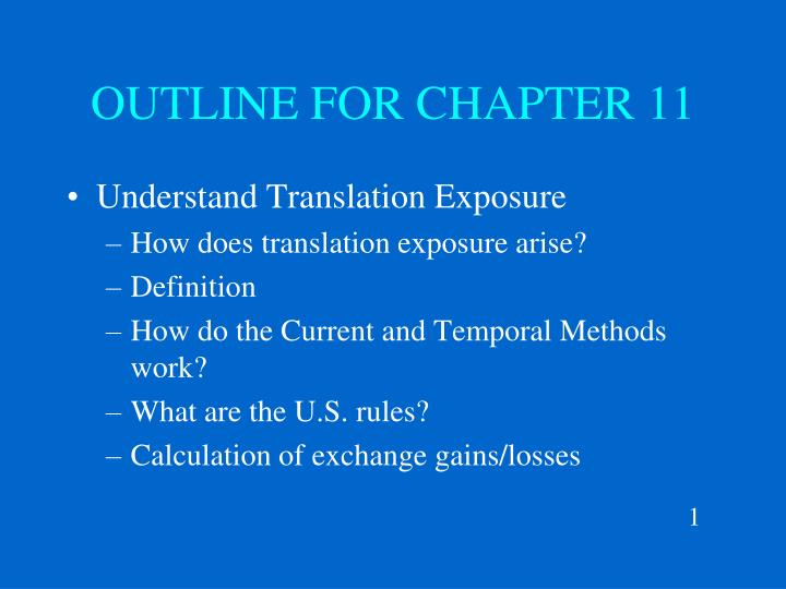 chapter 11 business outline Start studying chapter 11 industry outline learn vocabulary, terms, and more with flashcards, games, and other study tools.