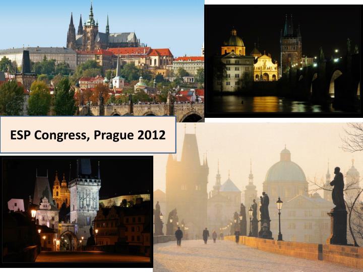 ESP Congress, Prague 2012