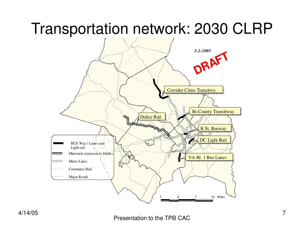 PPT - 2030 Transit-Oriented Development Scenario: Travel ...