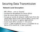 securing data transmission11