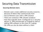securing data transmission12
