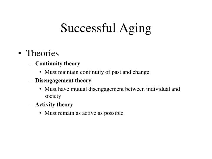Successful Aging