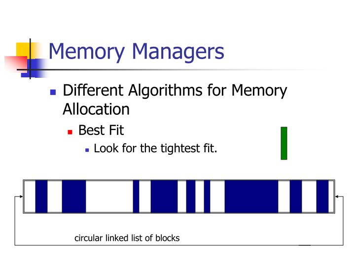 Memory Managers