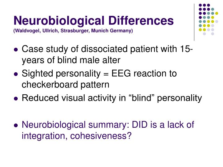 Neurobiological Differences