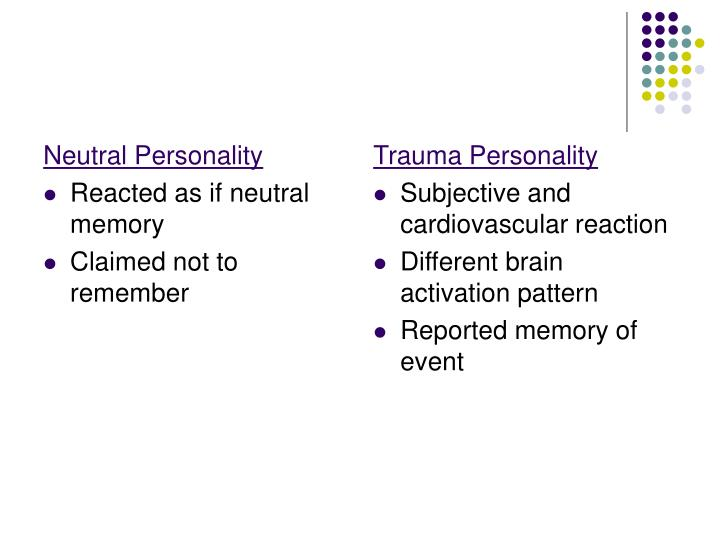 Neutral Personality