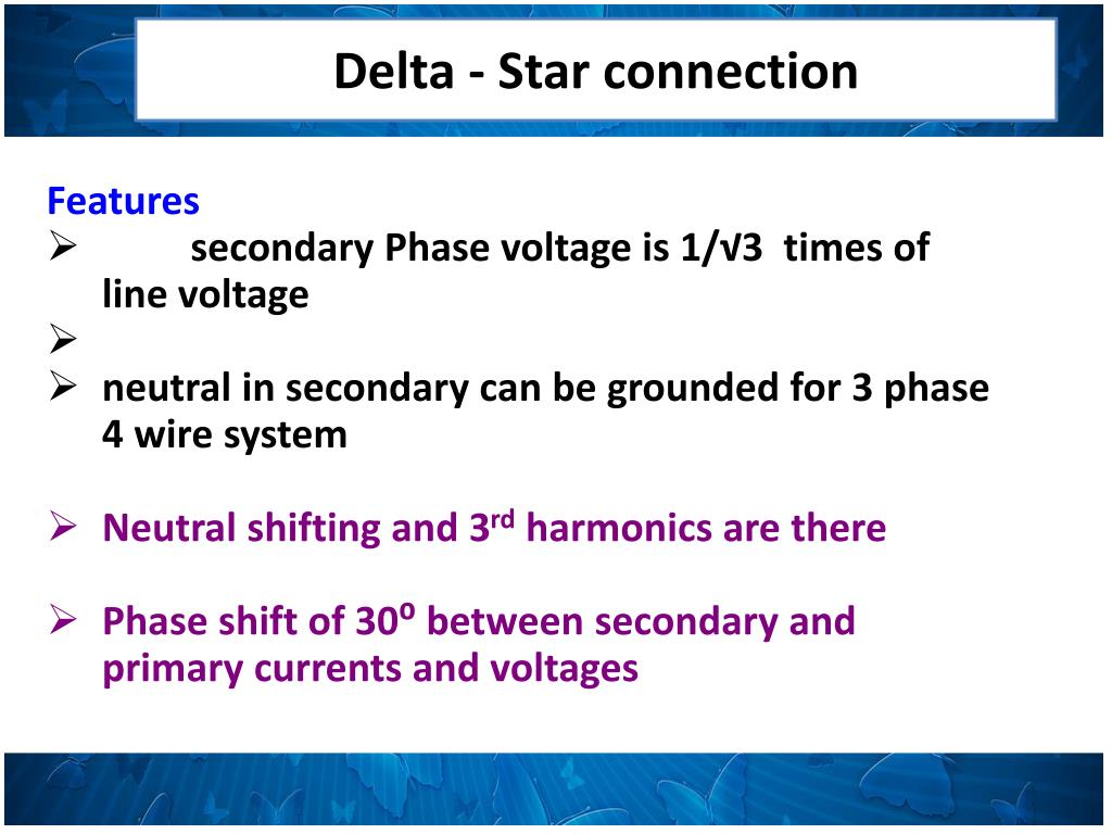 PPT - THREE PHASE TRANSFORMERS PowerPoint Presentation - ID