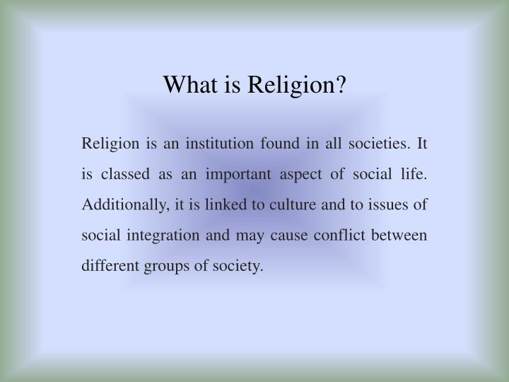 what is religion n.