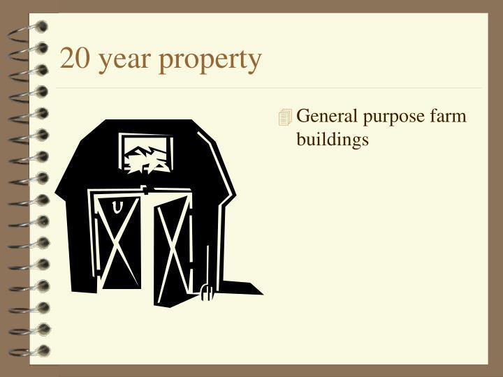 20 year property