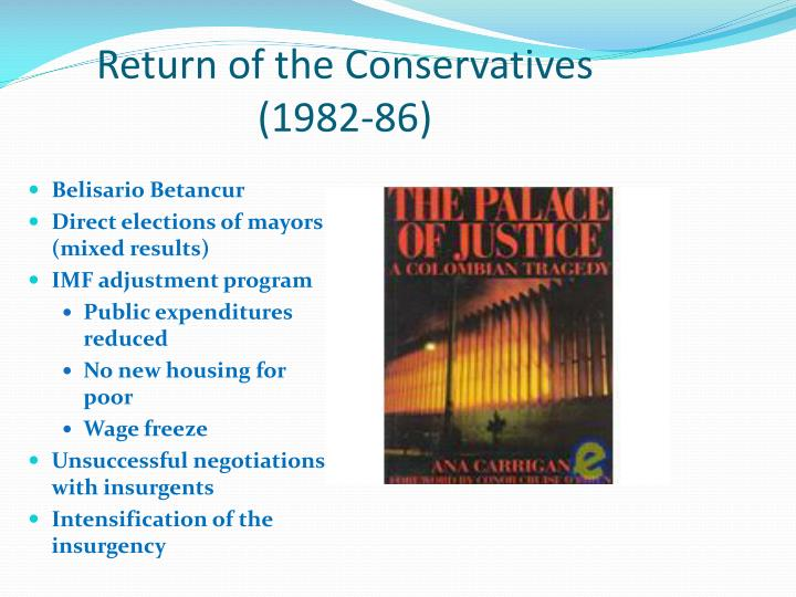 Return of the Conservatives