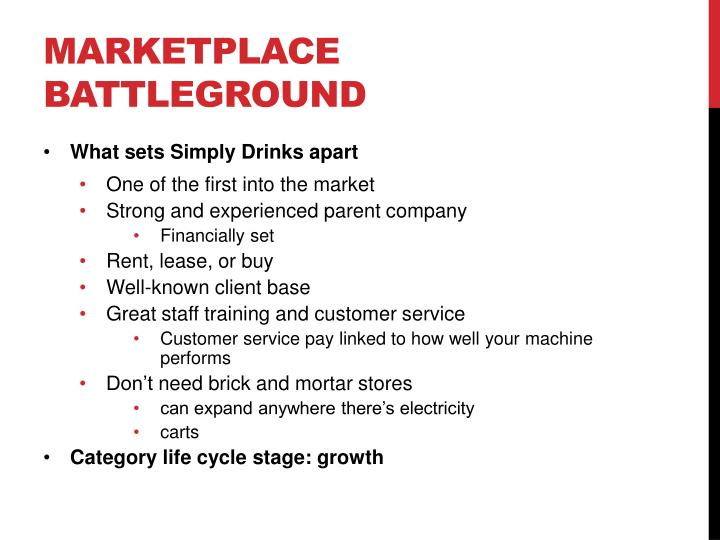 Marketplace Battleground
