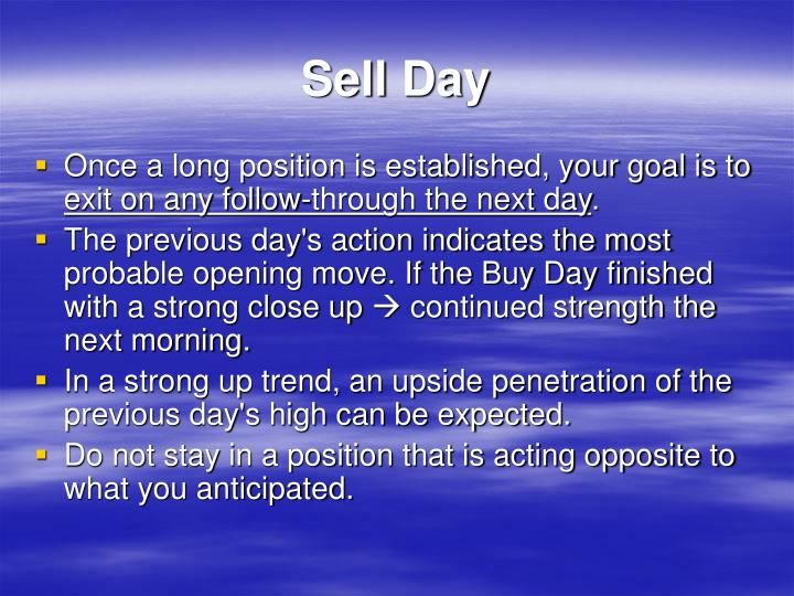 Sell Day