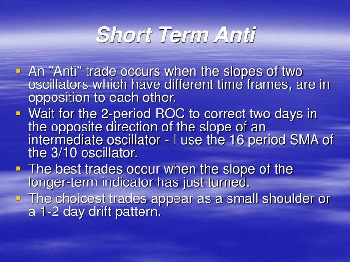 Short Term Anti