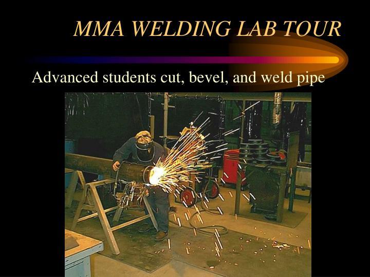MMA WELDING LAB TOUR
