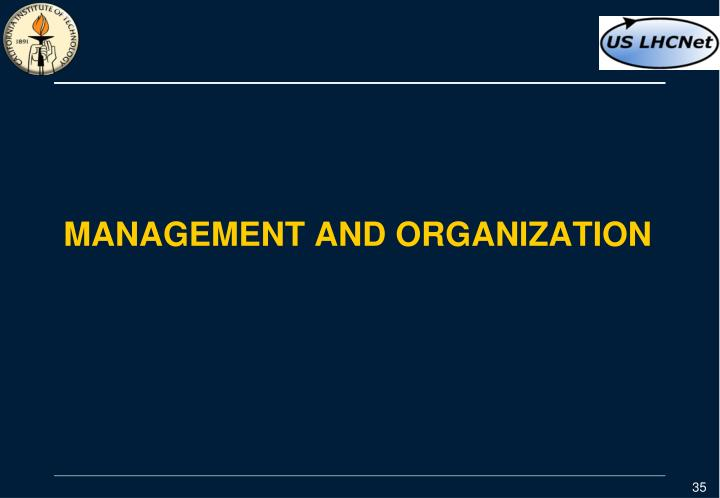 Management and