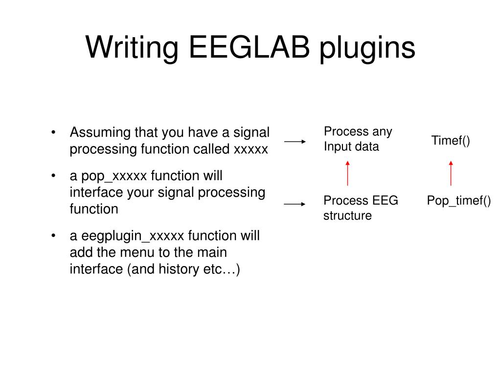 PPT - EEGLAB documentation PowerPoint Presentation - ID:3032502