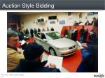 auction style bidding