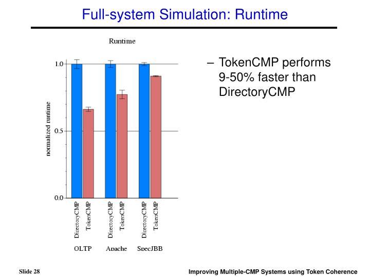 Full-system Simulation: Runtime