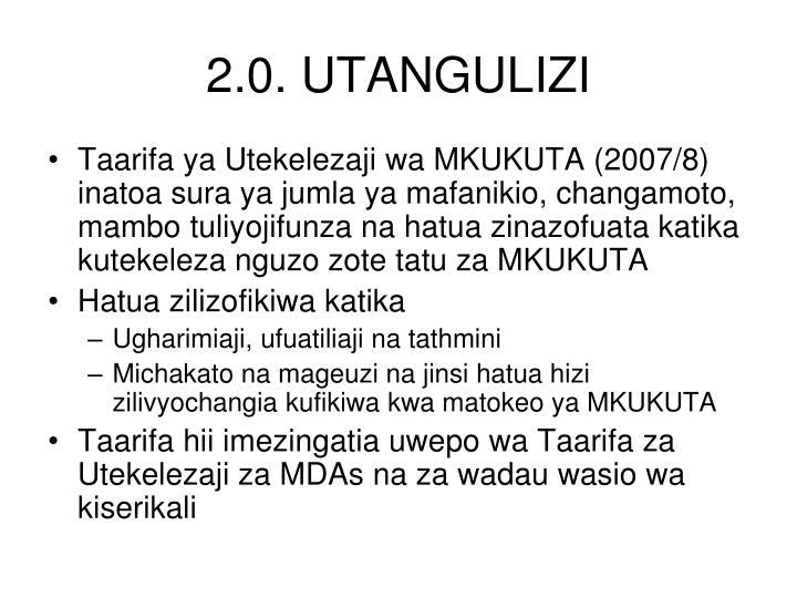 2.0. UTANGULIZI