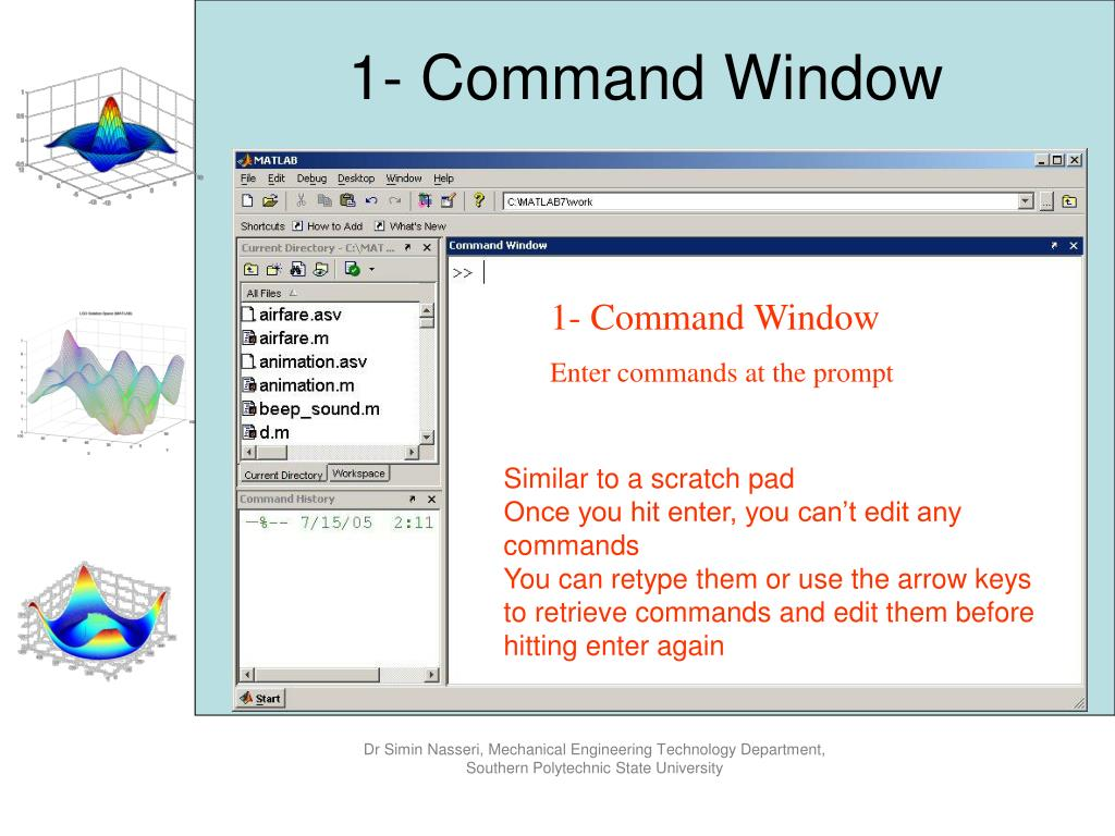 PPT - Engineering Computation using MATLAB PowerPoint