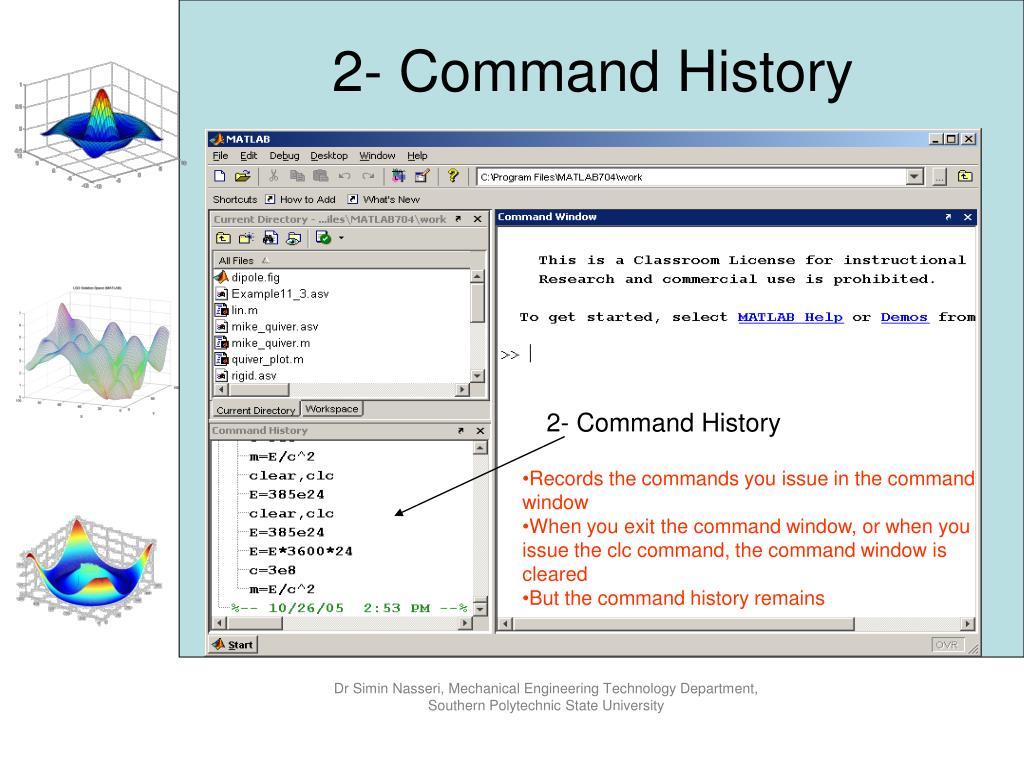 PPT - Engineering Computation using MATLAB PowerPoint
