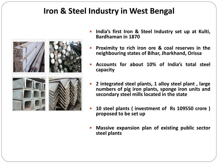 first steel industry in india