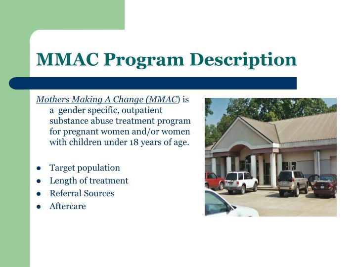 MMAC Program Description