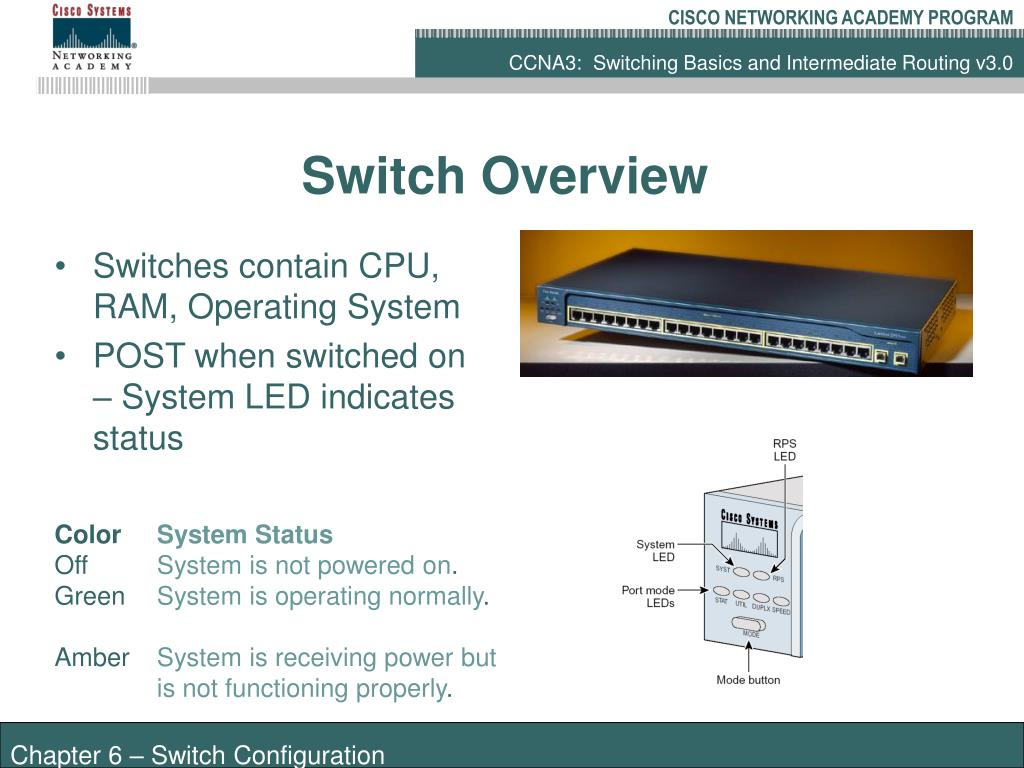PPT - Switch Configuration PowerPoint Presentation - ID:3033772