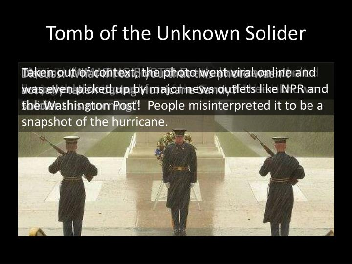 Tomb of the Unknown Solider