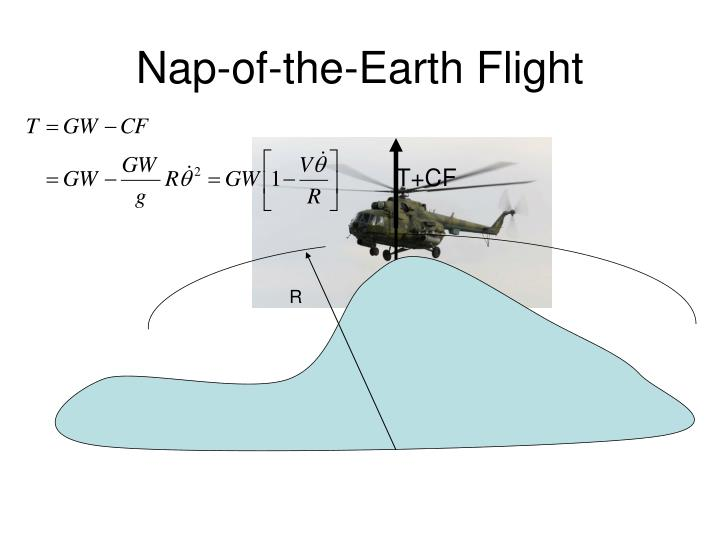 Nap-of-the-Earth Flight