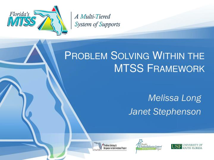 problem solving within the mtss framework n.