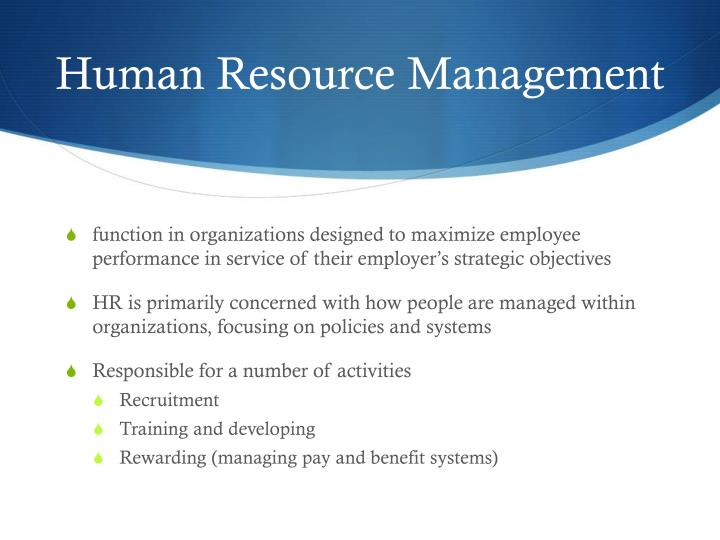 hr management 2 essay Hr management page 1 hr manager wendy nash bus310 professor dunker january 16, 2017 strayer university in the scenario given, the female worker approaches the person in charge of the human resource department complaining about a male worker who continuous causes sexual.